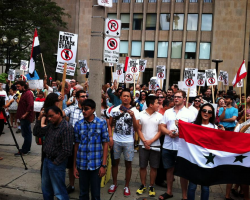 Toronto Activists Oppose US Strike on Syria