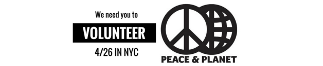 volunteer peace and planet